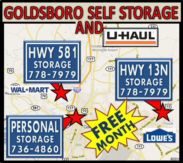 Goldsboro Self Storage and U-Haul