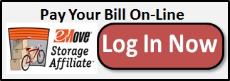 Pay Your Self Storage Bill On-Line